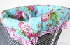 Pink Rose Shopping Cart Cover