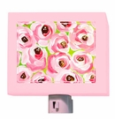 Pink Roses Night Light
