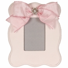 Pink Scalloped Picture Frame