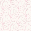 Pink Scribble Dots Wallpaper