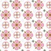 Pink Small Moroccan Caden Lane Fabric by the Yard