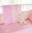 On Sale Pink Sorbet 2-Piece Crib Bedding Set