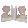 Pink Spring Flower Bookends