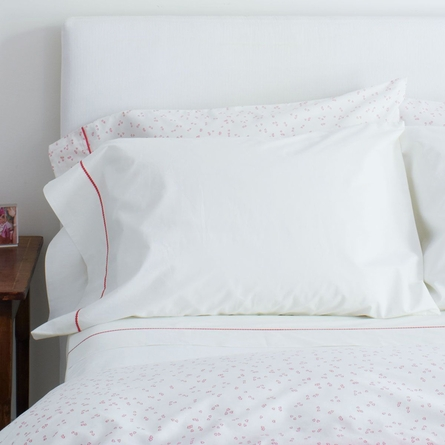 Pink Stitch Standard Pillow Case