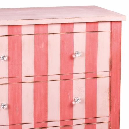 Pink Striped Chest