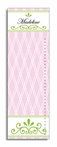 Pink Trellis Personalized Growth Chart