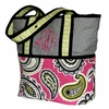 Pink Whimsey Tote Diaper Bag