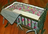 Pink Whimsy Cradle Linens