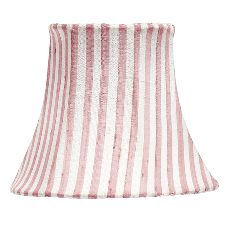 pink white stripe chandelier shade by jubilee collection. Black Bedroom Furniture Sets. Home Design Ideas