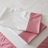 Pink Windowpane Pillowcase Set
