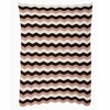 Pink Zag Knit Kids Throw Blanket