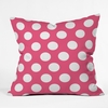 Pinkest Pink Throw Pillow