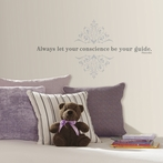 Pinocchio Always Let Your Conscience Be Your Guide Wall Decals