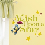 Pinocchio Wish Upon A Star Wall Decals