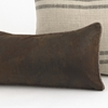 Pinto Tobacco Corded Pillow