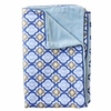 Ikat Blue Mod Piper Baby Blanket