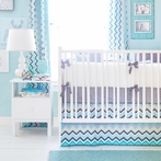 Piper in Gray Crib Bedding Set