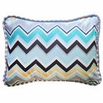 Piper in Gray Throw Pillow