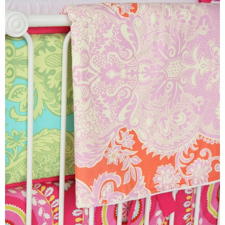 Piper's Paisley Crib Bedding Set