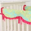 Piper's Paisley Crib Rail Cover