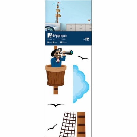 Pirate Lookout Wall Decals