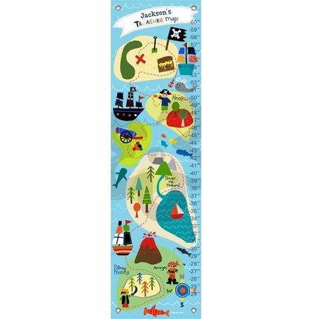 Pirate's Treasure Map Growth Chart