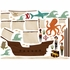 Pirate Ship Fabric Wall Decals