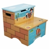 Pirates Island Step Stool with Storage