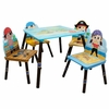 Pirates Island Table and Set of 4 Chairs
