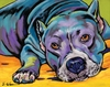 Pitbull Dog Wall Art