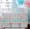 Pixie Baby 3-Piece Crib Bedding Set in Aqua