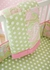 Pixie Baby Crib Bedding Set in Pink