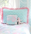 Pixie Baby in Aqua Full Bedding Set