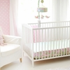 Pixie Baby in Pink Bumperless Crib Sheet