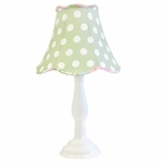 Pixie Baby Lamp in Pink and Green