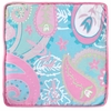 Pixie Baby Throw Pillow in Aqua