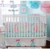 Pixie Baby Window Valance in Aqua