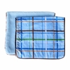 Plaid Burp Cloth Set