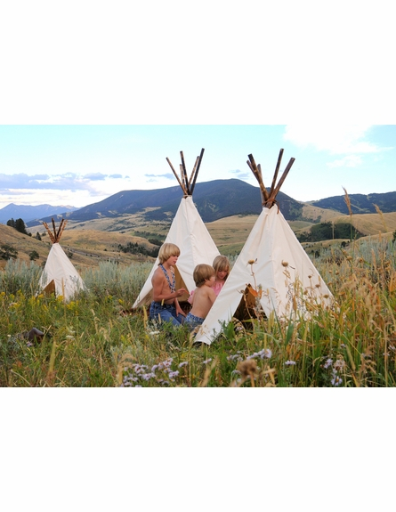 Plain Paintable Tipi