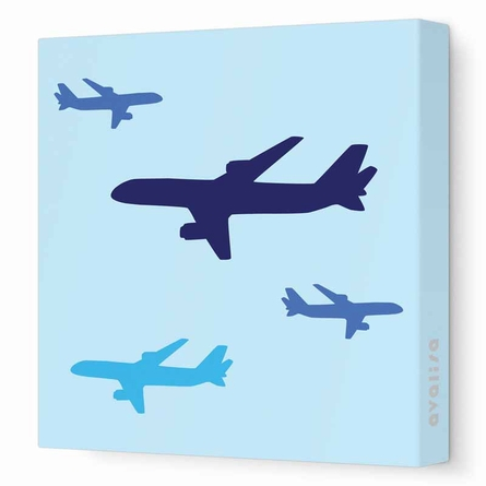 Planes Canvas Wall Art