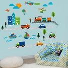 Planes, Trains, and Things That Go Wall Decals