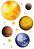 Planets Wall Decals