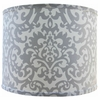 Platinum Damask Lamp Shade