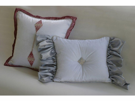 Platinum & Diamonds Monroe Diamond Boudoir Pillow