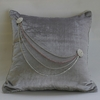 Platinum & Diamonds Necklace Throw Pillow