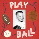 Play Ball Picture Frame