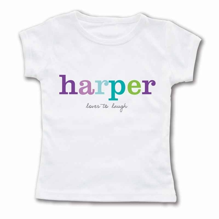 Playful Name Personalized T-Shirt