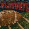 Playoffs Football Canvas Wall Art