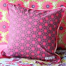 Plum Crazy Throw Pillow