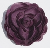 Plum Ranunculus Blooming Fabric Flower